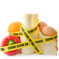 Allergie voor voedingsmiddel -Titel