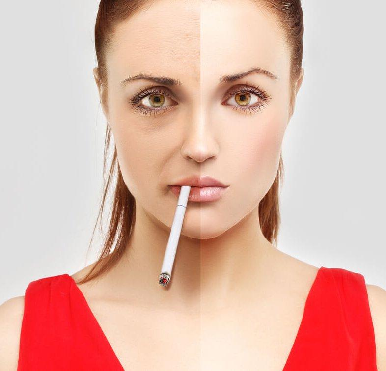 Nieuws - Roken slecht voor huid