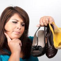 Allergie voor schoenen - Titel