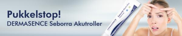 Seborra Akutroller Dermasence 1 september 2018
