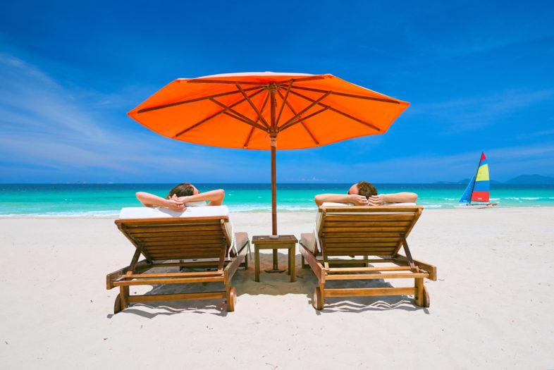 Parasol beschermt niet voldoende tegen zonverbranding